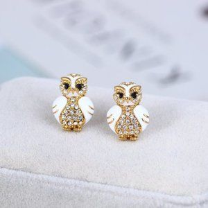 Kate Spade Cute Owl Earrings